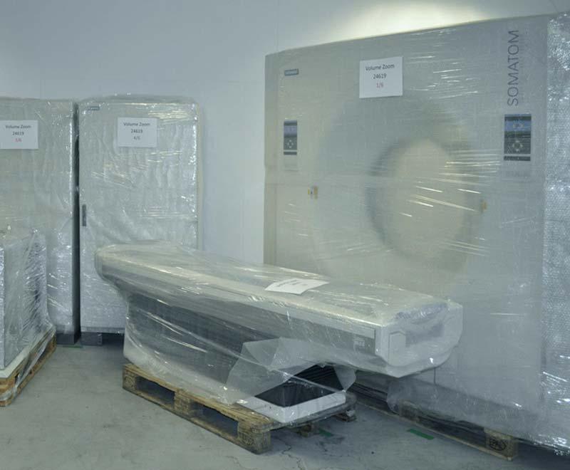 CT Transport und Installation